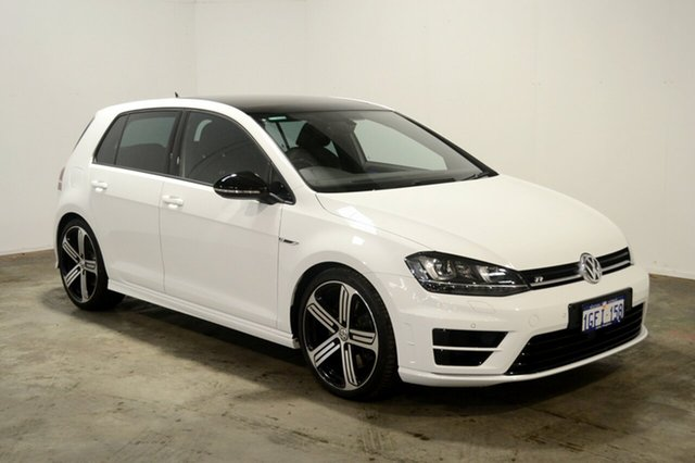 Used Volkswagen Golf VII MY17 R DSG 4MOTION, 2017 Volkswagen Golf VII MY17 R DSG 4MOTION White 6 Speed Sports Automatic Dual Clutch Hatchback