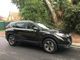 2017 Honda CR-V RW MY18 VTi FWD Midnight Forest 1 Speed Constant Variable Wagon.