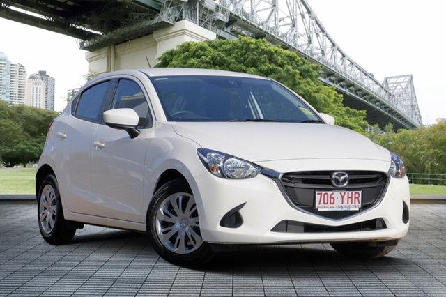 Demo Mazda 2 DJ2HAA Neo SKYACTIV-Drive, 2018 Mazda 2 DJ2HAA Neo SKYACTIV-Drive Snowflake White 6 Speed Sports Automatic Hatchback