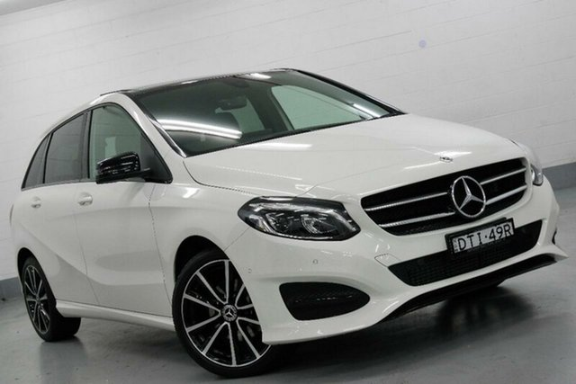Used Mercedes-Benz B200 W246 808+058MY d DCT, 2017 Mercedes-Benz B200 W246 808+058MY d DCT White 7 Speed Sports Automatic Dual Clutch Hatchback