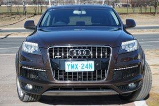 2013 Audi Q7 MY13 TDI Tiptronic Quattro Brown 8 Speed Sports Automatic Wagon.