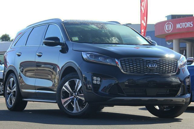 New Kia Sorento UM MY19 GT-Line AWD, 2019 Kia Sorento UM MY19 GT-Line AWD Gravity Blue 8 Speed Sports Automatic Wagon