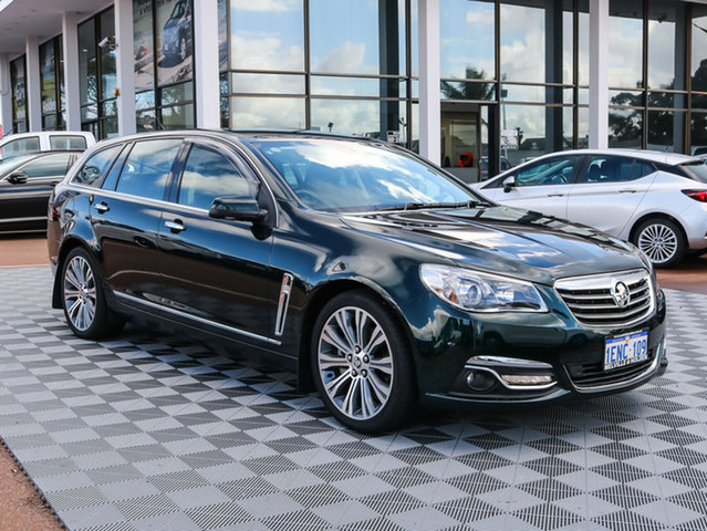 Used Holden Calais VF MY14 V Sportwagon, 2014 Holden Calais VF MY14 V Sportwagon Regal Peacock 6 Speed Sports Automatic Wagon
