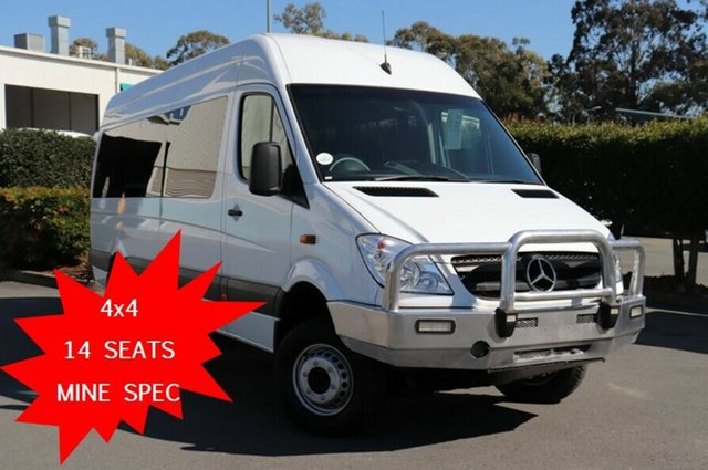 Used Mercedes-Benz Sprinter NCV3 MY11 519CDI High Roof LWB, 2011 Mercedes-Benz Sprinter NCV3 MY11 519CDI High Roof LWB White 5 Speed Automatic Van