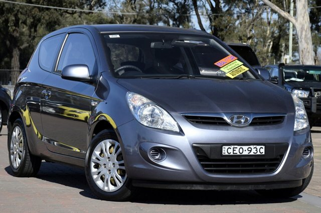 Used Hyundai i20 PB MY12 Active, 2011 Hyundai i20 PB MY12 Active Dark Grey 4 Speed Automatic Hatchback
