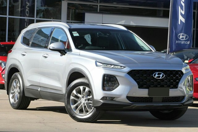 New Hyundai Santa Fe TM MY19 Active, 2018 Hyundai Santa Fe TM MY19 Active Typhoon Silver 8 Speed Sports Automatic Wagon