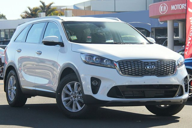 New Kia Sorento UM MY18 SI, 2018 Kia Sorento UM MY18 SI Clear White 8 Speed Sports Automatic Wagon