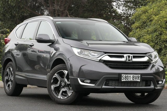 Used Honda CR-V RW MY18 VTi-S 4WD, 2017 Honda CR-V RW MY18 VTi-S 4WD Modern Steel 1 Speed Constant Variable Wagon