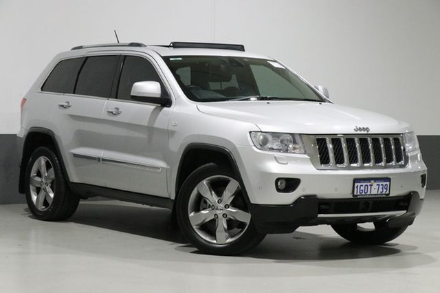 Used Jeep Grand Cherokee WH Overland (4x4), 2011 Jeep Grand Cherokee WH Overland (4x4) Silver 5 Speed Automatic Wagon