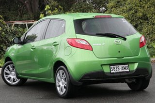 2011 Mazda 2 DE10Y1 MY11 Neo Spirited Green 4 Speed Automatic Hatchback.