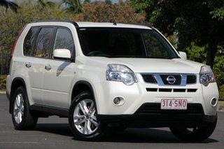2012 Nissan X-Trail T31 Series IV TS White 6 Speed Manual Wagon.