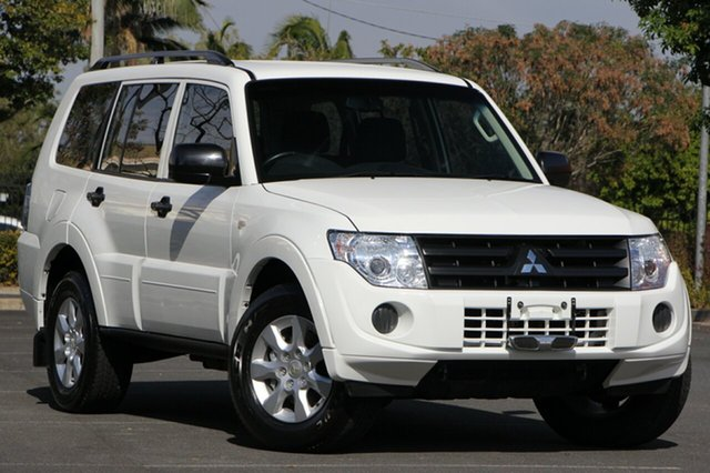 Used Mitsubishi Pajero NW MY14 GLX, 2014 Mitsubishi Pajero NW MY14 GLX White 5 Speed Sports Automatic Wagon