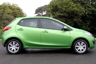 2011 Mazda 2 DE10Y1 MY11 Neo Spirited Green 4 Speed Automatic Hatchback