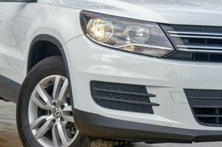 2014 Volkswagen Tiguan 5N MY14 118TSI 2WD White 6 Speed Manual Wagon