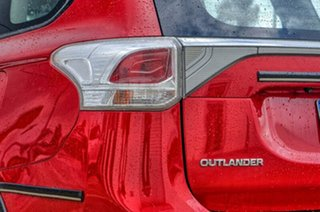 2013 Mitsubishi Outlander ZJ MY14 ES 4WD Red 6 Speed Constant Variable Wagon