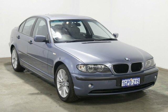 Used BMW 318i E46 MY2002 Executive Steptronic, 2003 BMW 318i E46 MY2002 Executive Steptronic Blue 5 Speed Sports Automatic Sedan