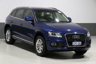 2016 Audi Q5 8R MY17 TDI S Tronic Quattro Scuba Blue 7 Speed Sports Automatic Dual Clutch Wagon