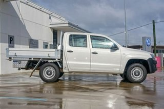 2013 Volkswagen Amarok 2H MY14 TDI420 4Motion Perm White 8 Speed Automatic Cab Chassis.
