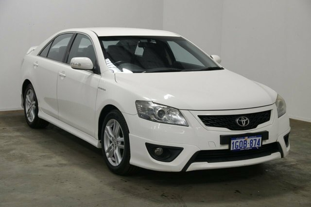 Used Toyota Aurion GSV40R MY10 Sportivo SX6, 2010 Toyota Aurion GSV40R MY10 Sportivo SX6 White 6 Speed Sports Automatic Sedan