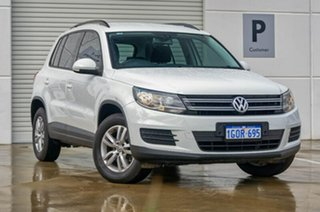 2014 Volkswagen Tiguan 5N MY14 118TSI 2WD White 6 Speed Manual Wagon.