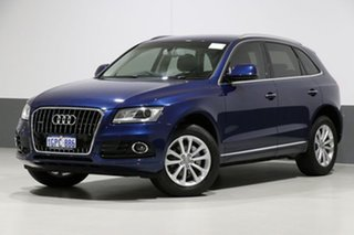 2016 Audi Q5 8R MY17 TDI S Tronic Quattro Scuba Blue 7 Speed Sports Automatic Dual Clutch Wagon.
