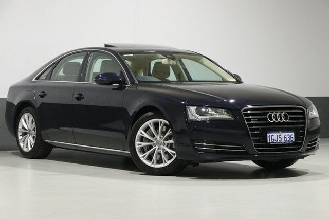 Used Audi A8 4H 4.2 FSI Quattro, 2010 Audi A8 4H 4.2 FSI Quattro Blue 8 Speed Automatic Tiptronic Sedan