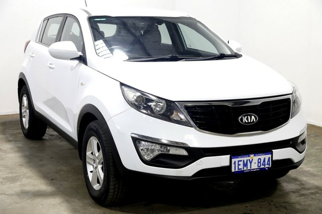 Used Kia Sportage SL MY14 Si 2WD, 2014 Kia Sportage SL MY14 Si 2WD Casa White 6 Speed Manual Wagon