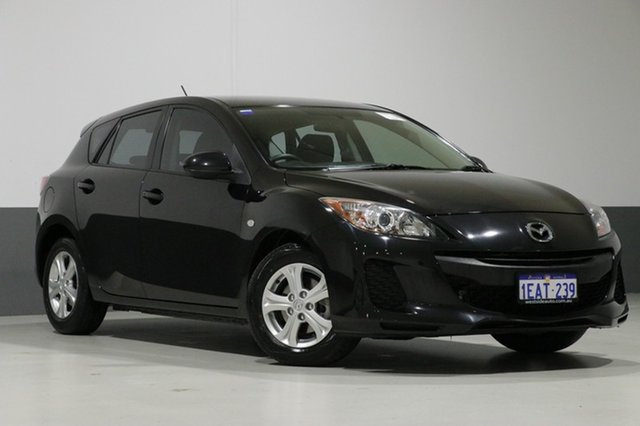 Used Mazda 3 BL MY13 Neo, 2012 Mazda 3 BL MY13 Neo Black 5 Speed Automatic Hatchback