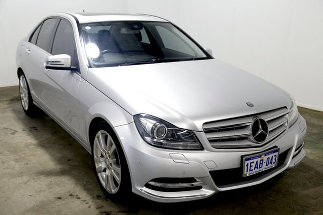 Used Mercedes-Benz C250 W204 MY12 BlueEFFICIENCY 7G-Tronic + Avantgarde, 2012 Mercedes-Benz C250 W204 MY12 BlueEFFICIENCY 7G-Tronic + Avantgarde Silver 7 Speed