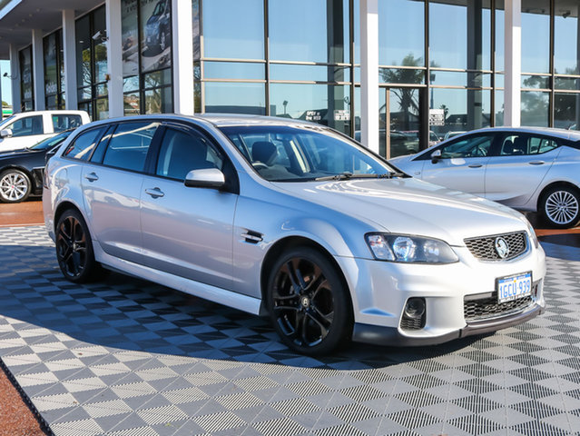 Used Holden Commodore VE II MY12 SS Sportwagon, 2012 Holden Commodore VE II MY12 SS Sportwagon Silver 6 Speed Sports Automatic Wagon