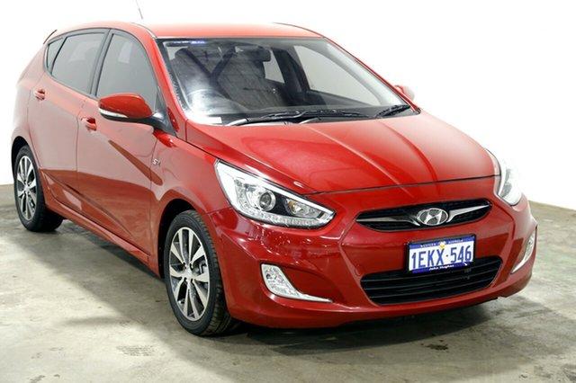 Used Hyundai Accent RB3 SR, 2014 Hyundai Accent RB3 SR Red 6 Speed Manual Hatchback