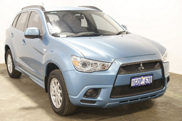 Used Mitsubishi ASX XA MY11 2WD, 2010 Mitsubishi ASX XA MY11 2WD Light Blue 6 Speed Constant Variable Wagon