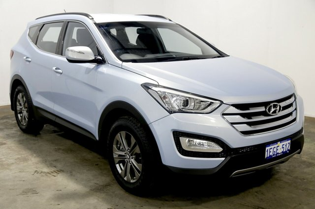 Used Hyundai Santa Fe DM MY13 Active, 2013 Hyundai Santa Fe DM MY13 Active Glacier 6 Speed Sports Automatic Wagon