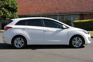 2012 Hyundai i30 GD Active Tourer White 6 Speed Sports Automatic Wagon