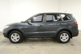 2011 Hyundai Santa Fe CM MY11 SLX Stone Grey 6 Speed Sports Automatic Wagon.