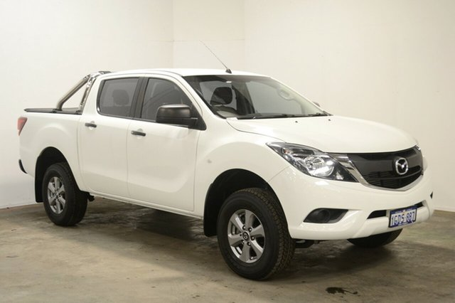 Used Mazda BT-50 UR0YG1 XT, 2016 Mazda BT-50 UR0YG1 XT White 6 Speed Sports Automatic Utility