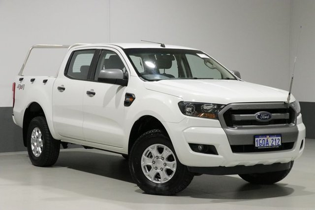 Used Ford Ranger PX MkII XLS 3.2 (4x4), 2015 Ford Ranger PX MkII XLS 3.2 (4x4) White 6 Speed Automatic Dual Cab Utility