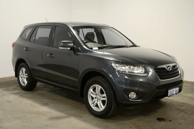 Used Hyundai Santa Fe CM MY11 SLX, 2011 Hyundai Santa Fe CM MY11 SLX Stone Grey 6 Speed Sports Automatic Wagon