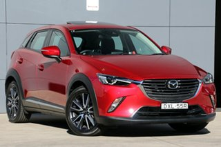 2017 Mazda CX-3 DK4W7A Akari SKYACTIV-Drive i-ACTIV AWD Soul Red 6 Speed Sports Automatic Wagon