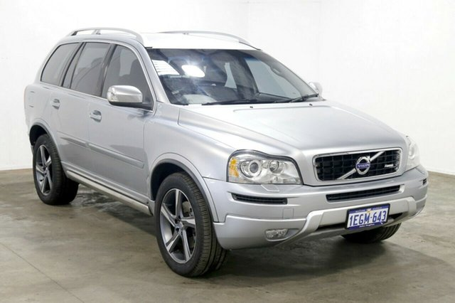 Used Volvo XC90 P28 MY13 D5 Geartronic R-Design, 2013 Volvo XC90 P28 MY13 D5 Geartronic R-Design Silver 6 Speed Sports Automatic Wagon