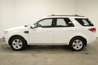 2013 Ford Territory SZ TX Seq Sport Shift Winter White 6 Speed Sports Automatic Wagon.