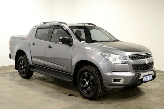 Used Holden Colorado RG MY16 Z71 Crew Cab, 2015 Holden Colorado RG MY16 Z71 Crew Cab Grey 6 Speed Sports Automatic Utility