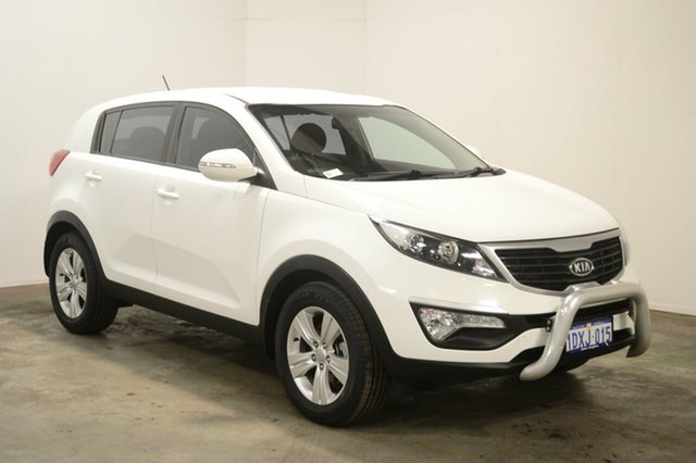 Used Kia Sportage SL MY12 SI, 2011 Kia Sportage SL MY12 SI White 6 Speed Sports Automatic Wagon