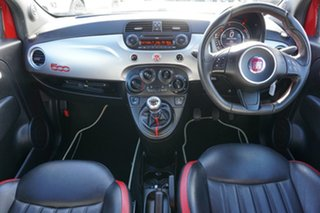 2015 Fiat 500 Series 3 S Red 6 Speed Manual Hatchback