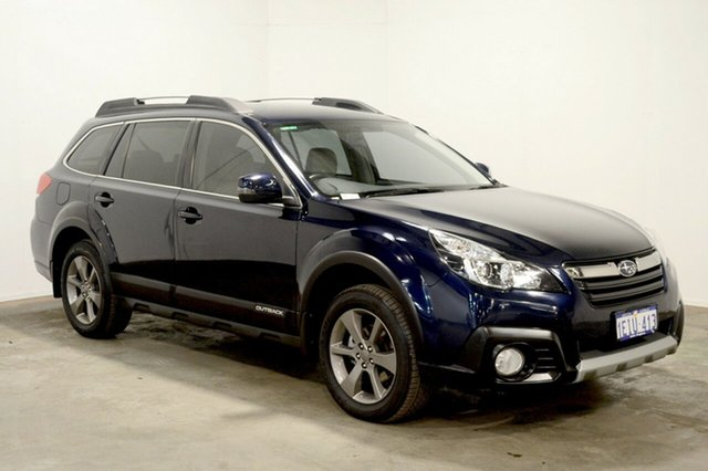 Used Subaru Outback B5A MY14 2.5i Lineartronic AWD, 2013 Subaru Outback B5A MY14 2.5i Lineartronic AWD Blue 6 Speed Constant Variable Wagon