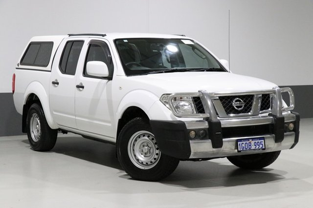Used Nissan Navara D40 MY13 RX (4x4), 2014 Nissan Navara D40 MY13 RX (4x4) White 5 Speed Automatic Dual Cab Pick-up