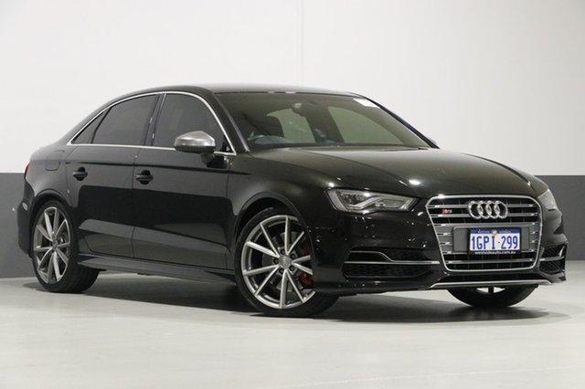 Used Audi S3 8V MY14 2.0 TFSI Quattro, 2014 Audi S3 8V MY14 2.0 TFSI Quattro Black 6 Speed Direct Shift Sedan
