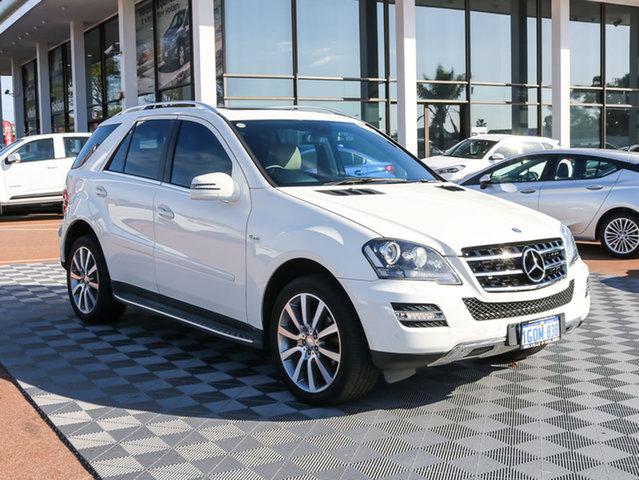Used Mercedes-Benz ML300 CDI W164 MY11 BlueEFFICIENCY Grand Edition, 2011 Mercedes-Benz ML300 CDI W164 MY11 BlueEFFICIENCY Grand Edition White 7 Speed Sports Automatic