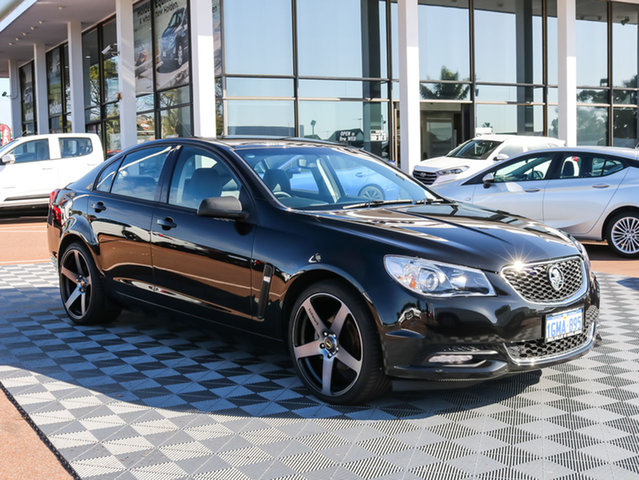 Used Holden Commodore VF MY14 International, 2013 Holden Commodore VF MY14 International Black 6 Speed Sports Automatic Sedan