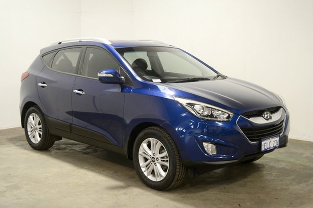 Used Hyundai ix35 LM3 MY14 Elite AWD, 2013 Hyundai ix35 LM3 MY14 Elite AWD Cobalt Coast 6 Speed Sports Automatic Wagon
